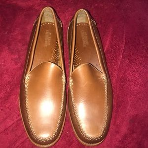 Men's LL Bean Signature Dress Shoes Loafers NEW 12